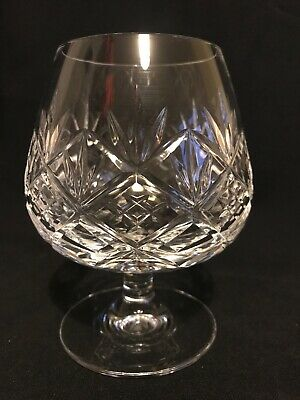 "Royal Doulton crystal Hellene cut brandy glass, Unsigned  4 3/4"" tall ,"