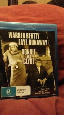 Bonnie And Clyde BLU RAY REGION  B   NEW/UNSEALED