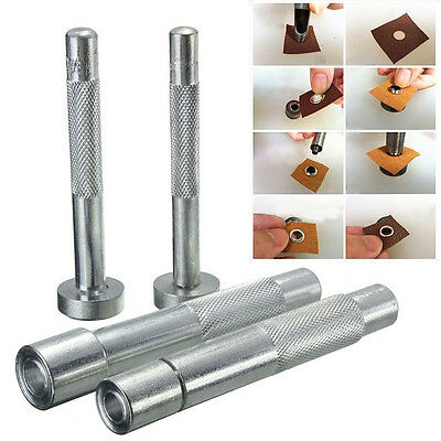 Eyelet Punch Tool Hole Cutter Set for Leather Craft Clothing Grommet  Setter xf