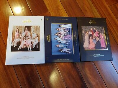 TWICE 8th Mini Album Feel Special NO PHOTOCARDS Choose VER/CD/LYRICS BOOK