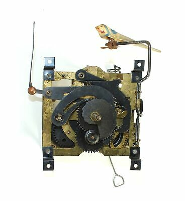 CUCKOO CLOCK MOVEMENT 25 REGULA MOVEMENT w/bird 30 HOUR - ZZ257