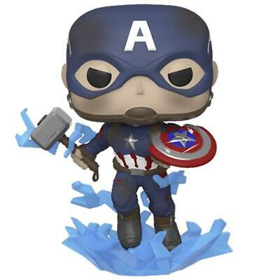 Pop! Marvel Avengers 4 Endgame Movie Captain America Broken Shield Mjolnir (Lot