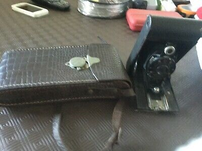 Kodak vintage No 2 autographic camera and Case