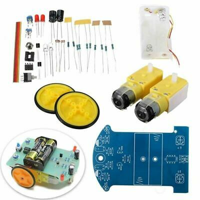 2WD Smart Tracking Robot Car Chassis DIY Kit Reduction Robotic Motor For Arduino