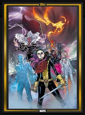 Topps MARVEL COLLECT DIGITAL Card COMIC BOOK DAY GOLD COVER MARAUDERS #1 OCTOBER