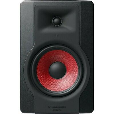 M-Audio BX8 D3 Crimson Powered Studio Reference Monitor LN