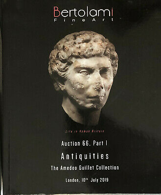 Bertolami Antiquities July 2019 Auction 66 Part 1 The Amedeo Guillet collection