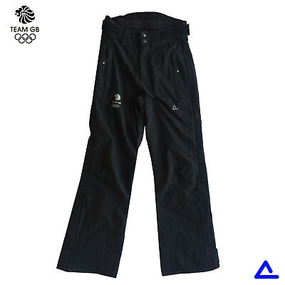 "TEAM GB WINTER OLYMPICS DARE2B CHARCOAL SKI TROUSERS PANTS SizeXS WAIST 26""/66cm"