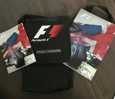Formula 1 2017 Official British Grand Prix Programme F1 Silverstone
