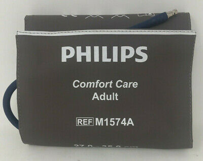 Philips M1574A Reusable NIBP Blood Pressure Cuff Adult Size 27-35cm