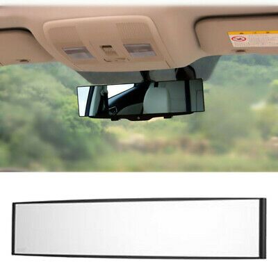 270mm Wide Curve Inner Clip On Rear View Rearview Mirror Universal Car Trucks CA