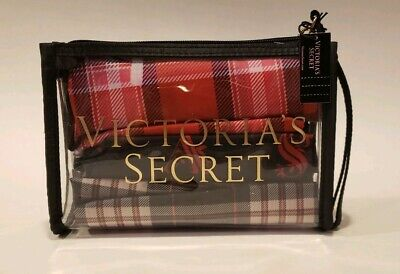 NEW Victoria's Secret Bag Makeup Laundry/Shoes/Lingerie Travel Bags Set 4 pc