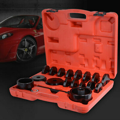 Front Wheel Bearing Adapter Drive Hub Puller Press Removal Tool Set w/Case XC812
