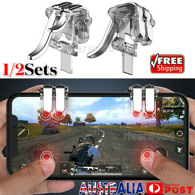 4 Key Gaming Trigger Mobile Phone Aiming Fire Button Shooter Controller for PUBG