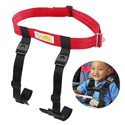 """Child Safety Harness Airplane Travel Clip Strap System Approved By FAA For """" USA"""