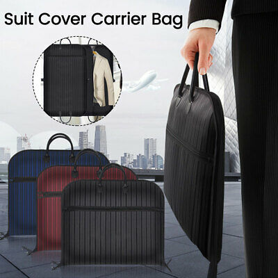 Quality Waterproof Suit Dress Carrier Garment Cover Travel Bag Strong Foldable