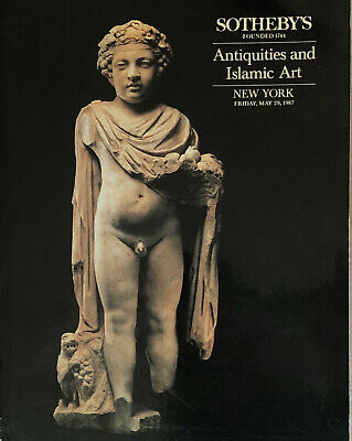 Sothebys Catalogue 29 may1987 Antiquities And Islamic Works Of Art Nuevo York