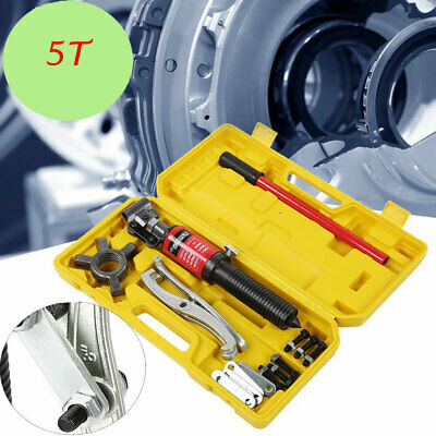 3in1 Hydraulic Gear Puller Pumps Oil Tube 3 Jaws Drawing Machine 5T with Case