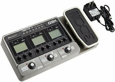 Zoom G3X Multi-Effects Guitar Effect Pedal Processor User Interface