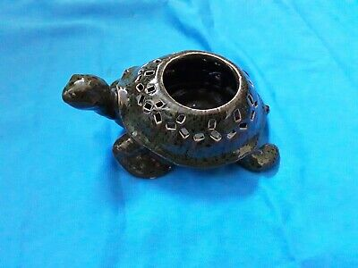 Ceramic Tortoise Tea Light Holder