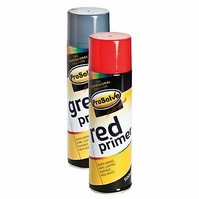 Red Oxide Primer Paint Spray Paint Aerosol Can For Acrylic & Cellulose