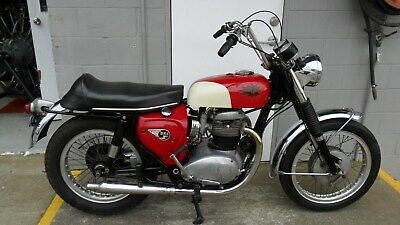 BSA Spitfire, 1966, A65 matching numbers