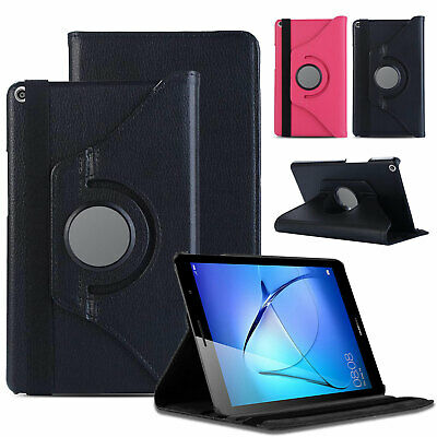 """for Huawei MediaPad T5 (10.1""""inch) Tablet 360° Premium Leather Flip Case Cover"""