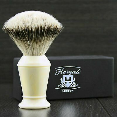 Silver Tip Badger Hair Shaving Brush With Resin Handle For Perfect Clean Shave