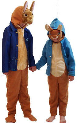 World Book Day Official-Licensed DELUXE PETER RABBIT Costume-Fancy Dress Outfits