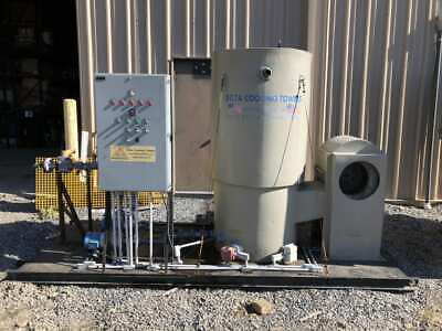 Pioneer Forced Draft Tower 15 ton Cooling Tower 1.5HP 80GPM w/ 40gal Tank 3PH