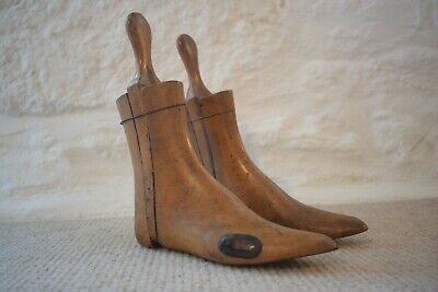 Antique Wooden Boot Trees With Bunion Stretchers, Ladies Boot Trees,Womens Shoes