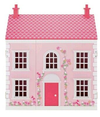 Victorian Dolls Wooden 3 Storey House