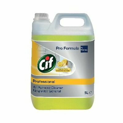 NEW! Cif Professional All Purpose Cleaner Lemon 5 Litre 7517879