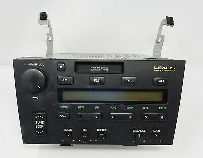 92-94 LEXUS ES300 RADIO RECEIVER 86120-33010 Pioneer Cassette Deck Tape Player
