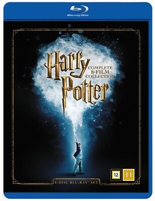 Harry Potter: The Complete 8 Movie Collection Box Blu Ray