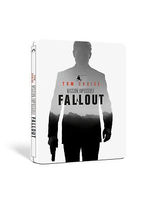 Mission Impossible Fallout Limited Edition Steelbook 2-Disc Blu Ray