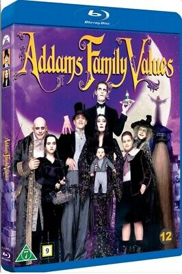 Addams Family Values Blu Ray [Nordic Import]