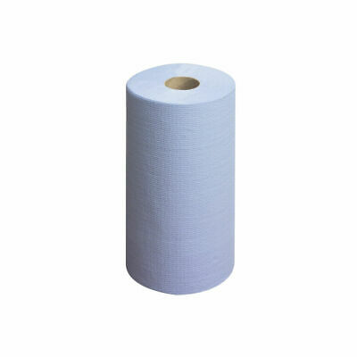 NEW! Wypall L20 Wiper Couch Roll Blue 140 Sheets Pack of 6 7414