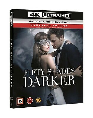 Fifty Shades Darker (Unmasked Edition) 4K UHD + Blu Ray (slipcover)