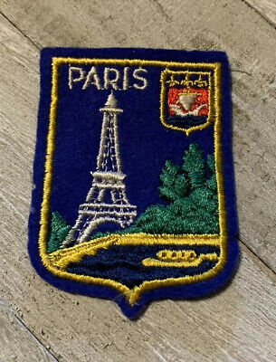 patch badge patch Eiffel Tower Paris souvenir thermal adhesive embroidered