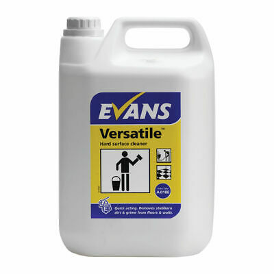 NEW! Evans Versatile Hard Surface Cleaner 5 litre Pack of 2 A018EEV2