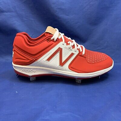 New Balance Low-Cut 3000v3 Metal Baseball Cleats (L3000TR3) - Red/White