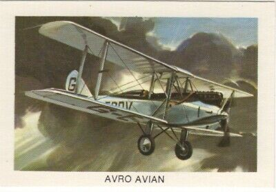 Tip Top Bread - Great Sunblest Air Race Cards #03. Avro Avian (different)