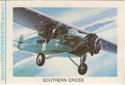 Tip Top Bread - Great Sunblest Air Race Cards #06. Sir Charles Kingsford Smith