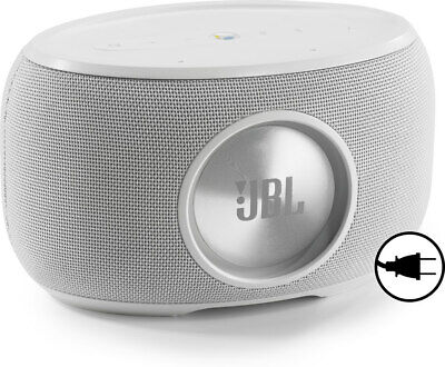 JBL Link 300 voice-activated powered speaker (white)