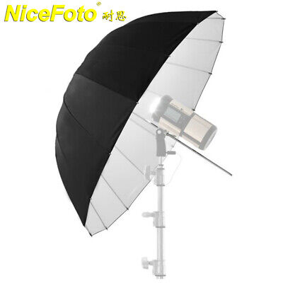 "NiceFoto 51"" Photography Studio Lighting Reflective Umbrella For Flash Strobe AU"