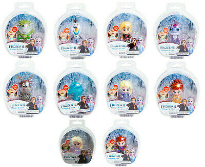 Frozen 2 Whisper And Glow Light Up Figures Nokk Elsa Anna Bruni Pabbie Olaf Sven
