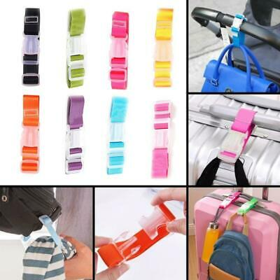 Adjustable Luggage Straps Tie Down Belt for Luggage Travel Buckle Lock Suitcase