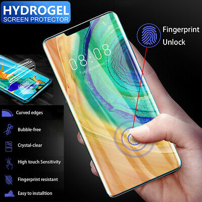 For Huawei Mate 30 Pro HYDROGEL AQUA FLEX Screen Protector Invisible Full Cover