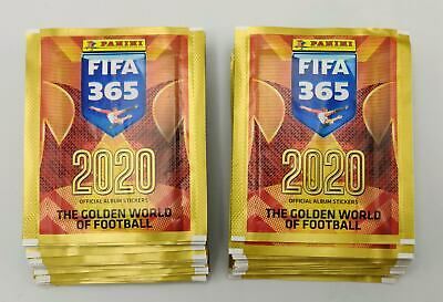 Panini FIFA 365 2020 448 stickers version album stickers,display,packets